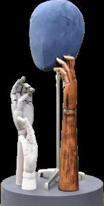 Accessoires für Schaufensterpuppen von Ästhetik & Design by Holger Kressin