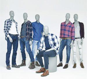 Hombres - Männliche Schaufensterpuppen von Ästhetik & Design by Holger Kressin